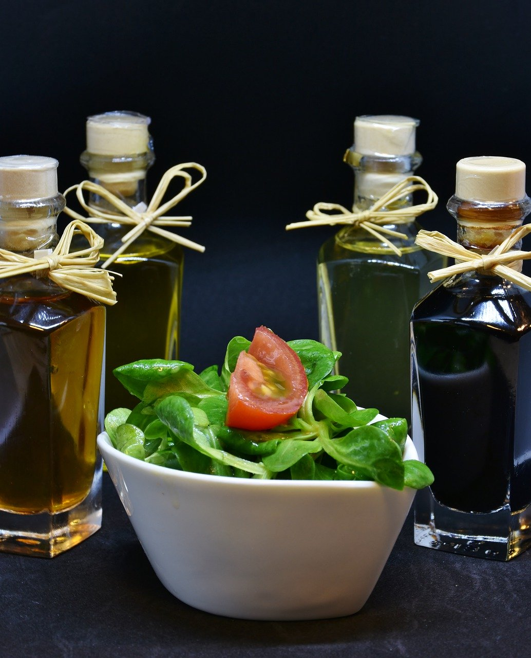 oil, olive oil, walnut oil